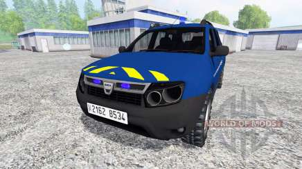 Dacia Duster [gendarmerie] for Farming Simulator 2015