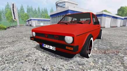 Volkswagen Golf I GTI 1976 for Farming Simulator 2015