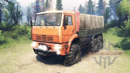 KamAZ-6522 [updated] for Spin Tires