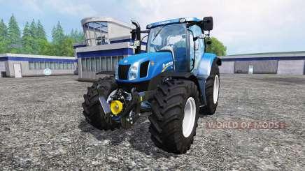 New Holland T6.175 v1.2.2 for Farming Simulator 2015