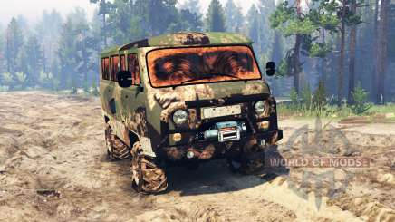 UAZ-2206 for Spin Tires