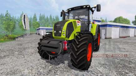 CLAAS Axion 850 v2.0 for Farming Simulator 2015