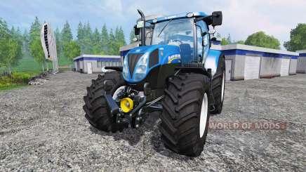 New Holland T7.210 v1.0.1 for Farming Simulator 2015