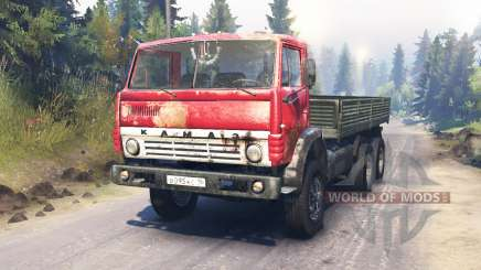 KamAZ-54102 for Spin Tires