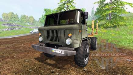 GAZ-66 [timber] for Farming Simulator 2015