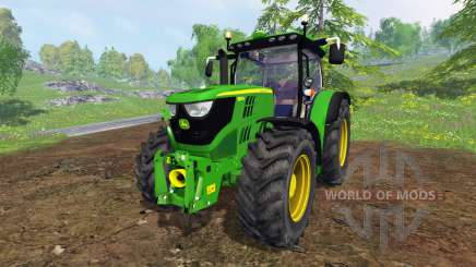John Deere 6150R FL for Farming Simulator 2015