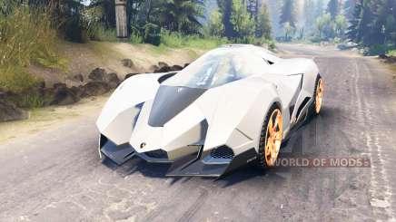 Lamborghini Egoista for Spin Tires