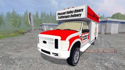 Ford F-250 [shipping truffles] for Farming Simulator 2015