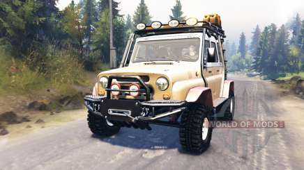 UAZ-31514 for Spin Tires