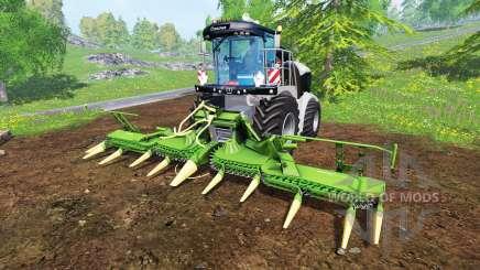 Krone Big X 580 [black] for Farming Simulator 2015