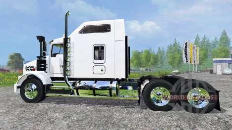 Kenworth T800 for Farming Simulator 2015