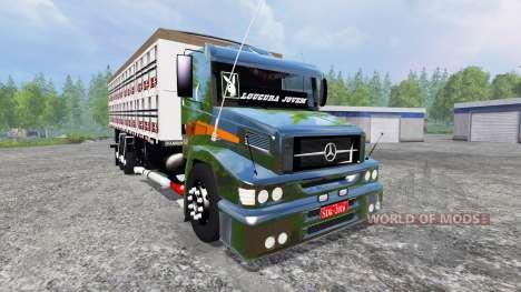 Mercedes-Benz 1620 v2.0 for Farming Simulator 2015