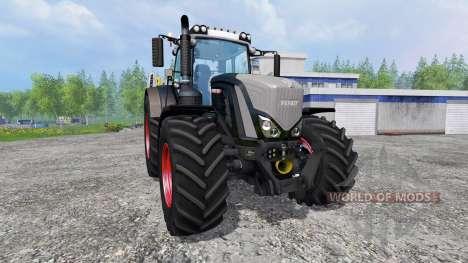 Fendt 939 Vario S4 Black Beauty for Farming Simulator 2015