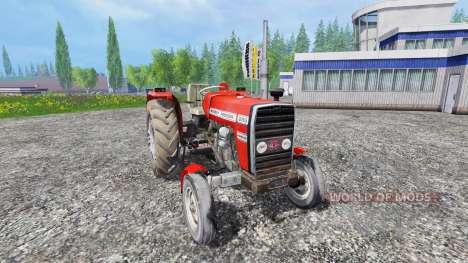 Massey Ferguson 255 [without cabin] for Farming Simulator 2015