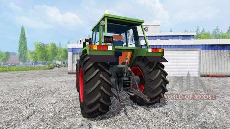 Fendt Favorit 622 LS for Farming Simulator 2015