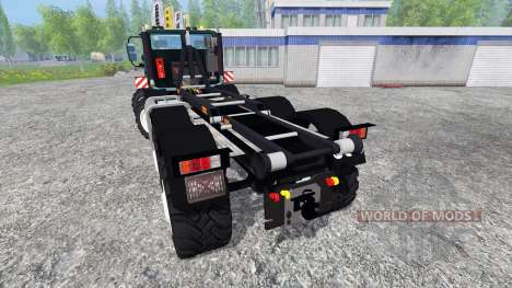 Mercedes-Benz Unimog U2450 8x8 HKL for Farming Simulator 2015