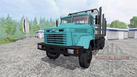 KrAZ-6233М6 for Farming Simulator 2015