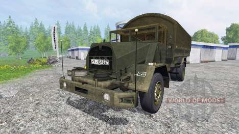 MAN 630L2 AE for Farming Simulator 2015