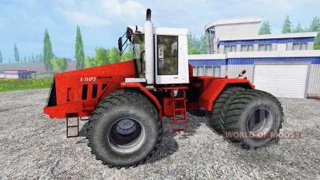 744 R3. v2.0 for Farming Simulator 2015