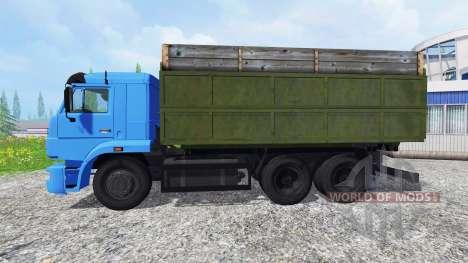 KamAZ-65117 [turbo] for Farming Simulator 2015
