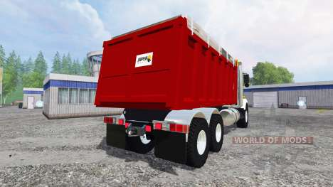 Kenworth T800 [dumper] v2.0 for Farming Simulator 2015