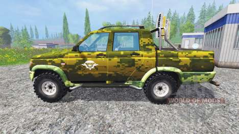 UAZ-2362 [AIRBORNE] for Farming Simulator 2015