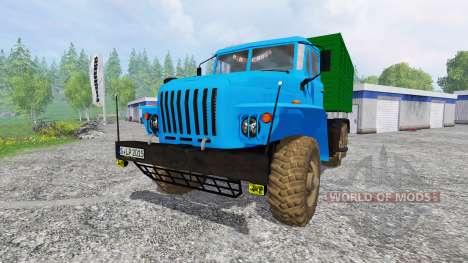 Ural-4320 v2.1 for Farming Simulator 2015