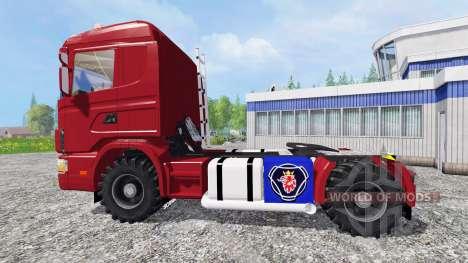 Scania 124L for Farming Simulator 2015