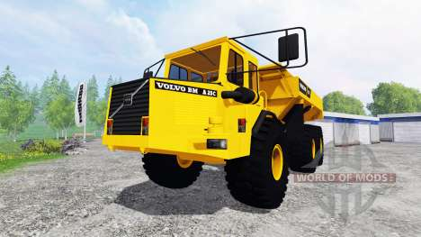 Volvo BM A25C 6x6 for Farming Simulator 2015
