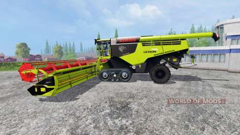 CLAAS Lexion 795 v1.2 for Farming Simulator 2015