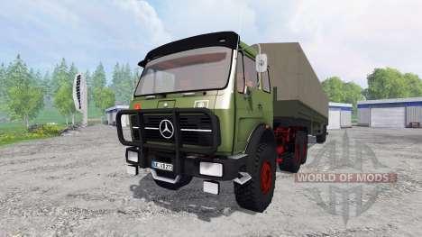 Mercedes-Benz NG 1632 6x6 for Farming Simulator 2015