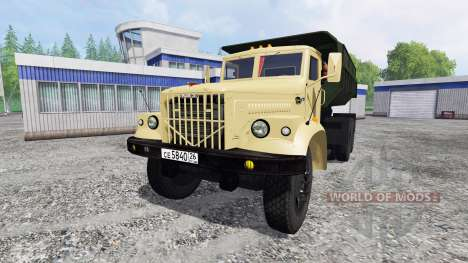 KrAZ-256Б v1.2 for Farming Simulator 2015