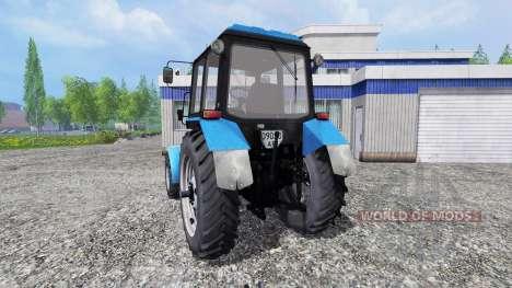 MTZ-82.1 Belarus v2.0 for Farming Simulator 2015