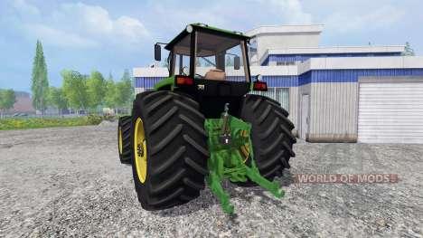 John Deere 4755 v2.2 for Farming Simulator 2015