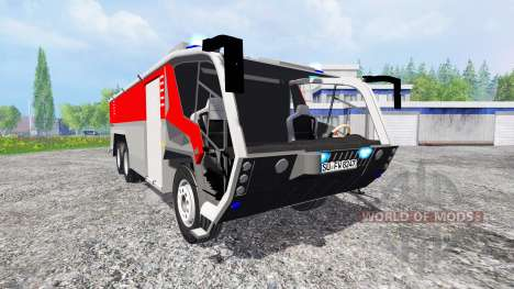Rosenbauer Panther 6x6 CA5 v1.1 for Farming Simulator 2015