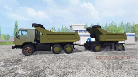 KamAZ-54102 for Farming Simulator 2015