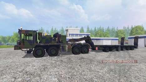 FAUN SLT 56 Franziska for Farming Simulator 2015