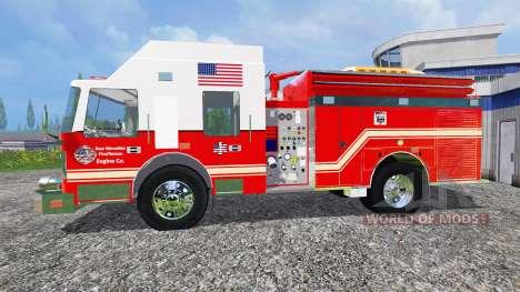 U.S Fire Truck v2.0 for Farming Simulator 2015