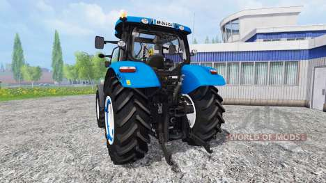 New Holland T6.120 v1.3 for Farming Simulator 2015