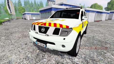 Nissan Pathfinder FFSS for Farming Simulator 2015