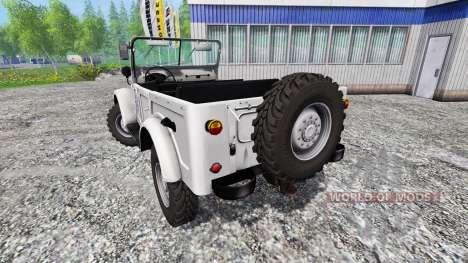 GAZ-69 for Farming Simulator 2015