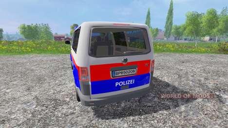 Volkswagen Transporter T5 Police for Farming Simulator 2015