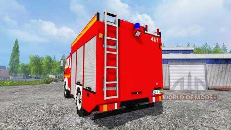MAN M12.222 [feuerwehr] for Farming Simulator 2015