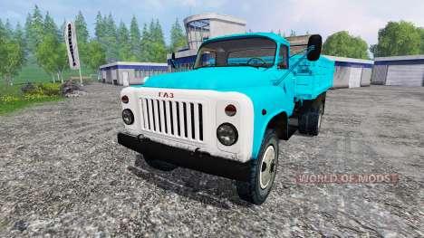 GAZ-53 v4.0.1 for Farming Simulator 2015