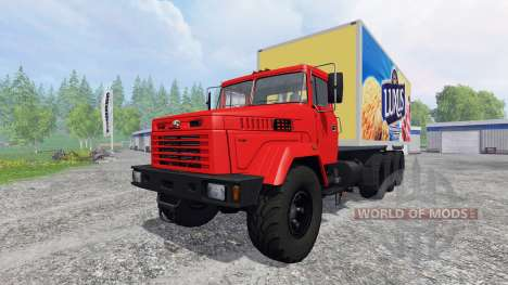 KrAZ-7140Н6 for Farming Simulator 2015