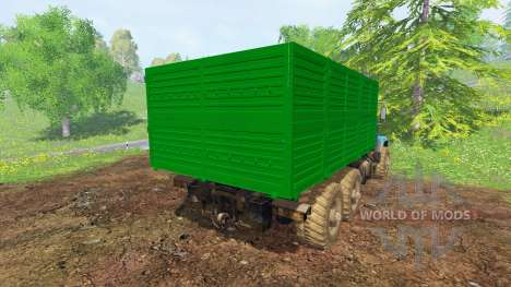 KrAZ-6322 v2.0 for Farming Simulator 2015