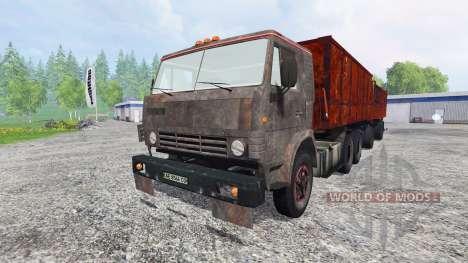 KamAZ-53212 v2.0 for Farming Simulator 2015