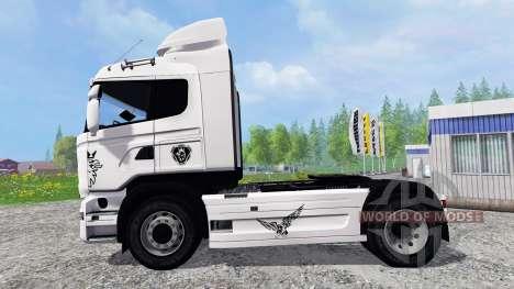Scania R730 Streamliner v2.0 for Farming Simulator 2015