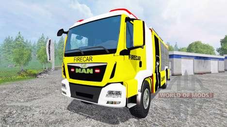 MAN TGM [firecar] for Farming Simulator 2015