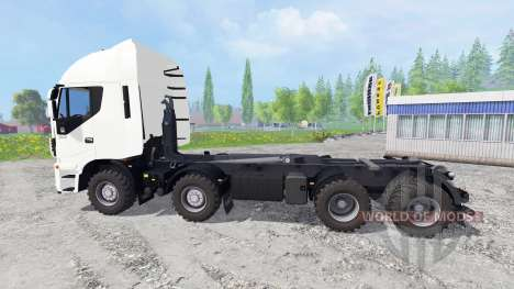 Iveco Stralis Hi-Way 8x8 for Farming Simulator 2015